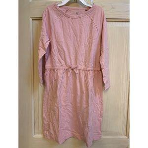 GAP Dresses - Gap Pink tie waist dress. Girls size medium